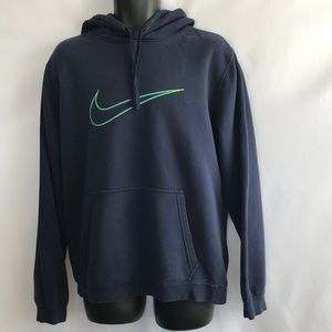 Nike Blue Long Sleeve Sweat Shirt
